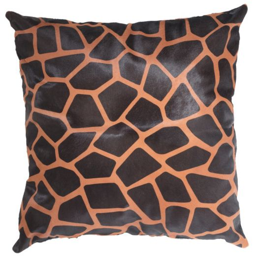 NEW-Cavallino Pillow- Giraffe 1027-492- 60x60cm ( CPGIR1027492BL6060) - ANVOGG FEEL SHEARLING | ANVOGG