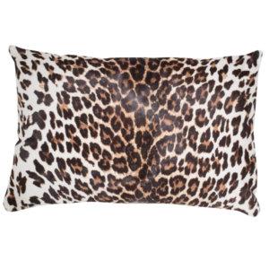 NEW-Cavallino Pillow- Leopard 1012 B- 35x55cm (CPLEO1012BBL3555) - ANVOGG FEEL SHEARLING | ANVOGG