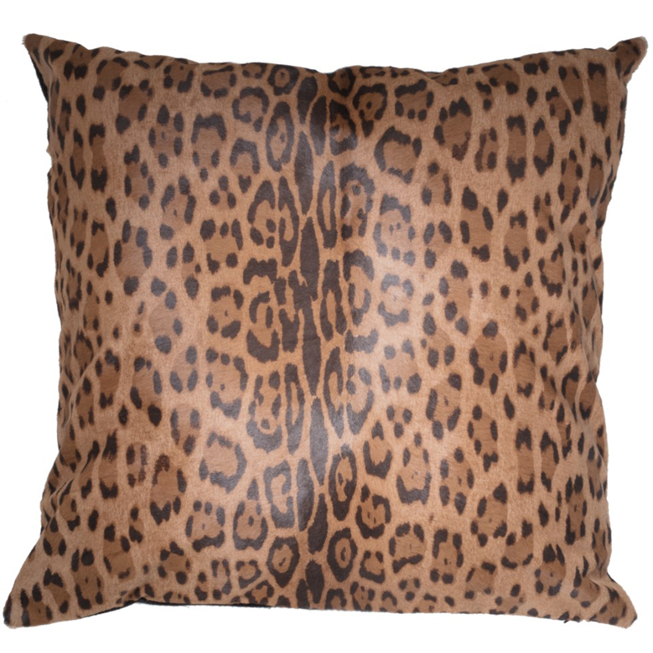 NEW-Cavallino Pillow- Leopard 1014-509(CPLEO1014509BL6060) - ANVOGG FEEL SHEARLING | ANVOGG