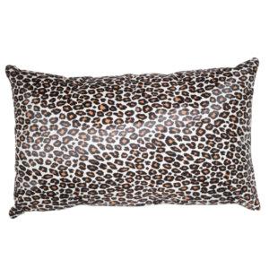 NEW-Cavallino Pillow- Leopard 1015 B- 35x55cm (CPLEO1015BL3555) - ANVOGG FEEL SHEARLING | ANVOGG