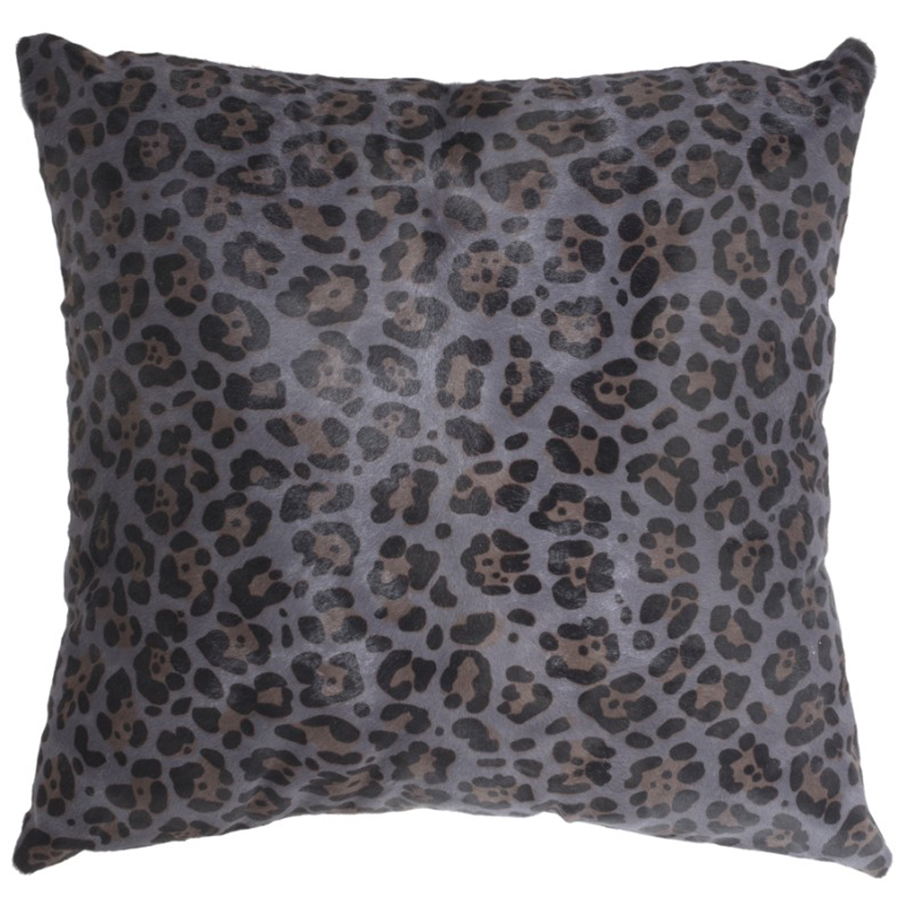 NEW-Cavallino Pillow- Leopard 1055-493- 50x50cm (CPLEO1055493BL5050) - ANVOGG FEEL SHEARLING | ANVOGG
