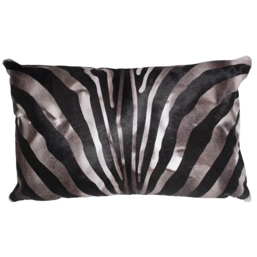 NEW-Cavallino Pillow- Zebra 1017 Argo- 35x55cm (CPZEB1017ABL3555) - ANVOGG FEEL SHEARLING | ANVOGG