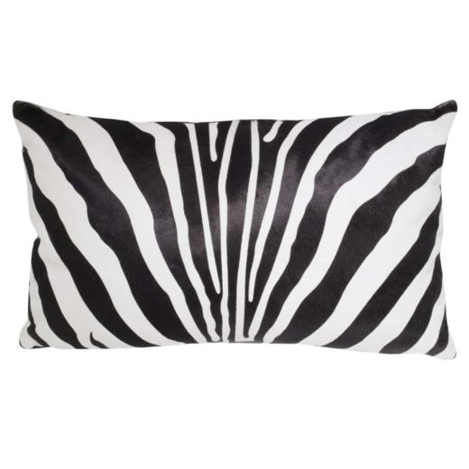 NEW-Cavallino Pillow- Zebra 1017 B- 35x55cm (CPZEB1017BBL3555) - ANVOGG FEEL SHEARLING | ANVOGG