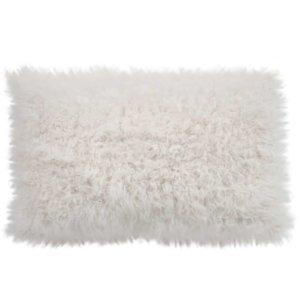 NEW-Shearling Pillow- Ceramic Curly- 35x55cm (TPCERCR3555) - ANVOGG FEEL SHEARLING | ANVOGG