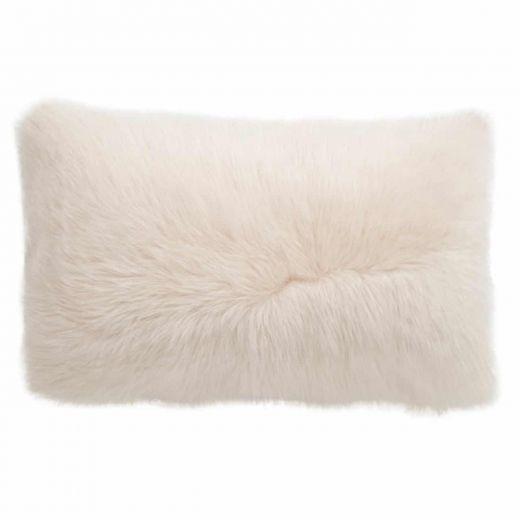 NEW-Shearling Pillow- Cream- 35x55cm (SPCRECR3555) - ANVOGG FEEL SHEARLING | ANVOGG
