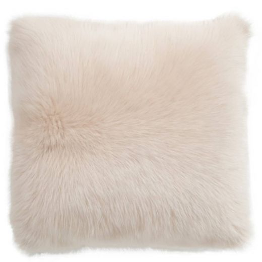 NEW-Shearling Pillow- Cream- 45x45cm (SPCRECR4545) - ANVOGG FEEL SHEARLING | ANVOGG