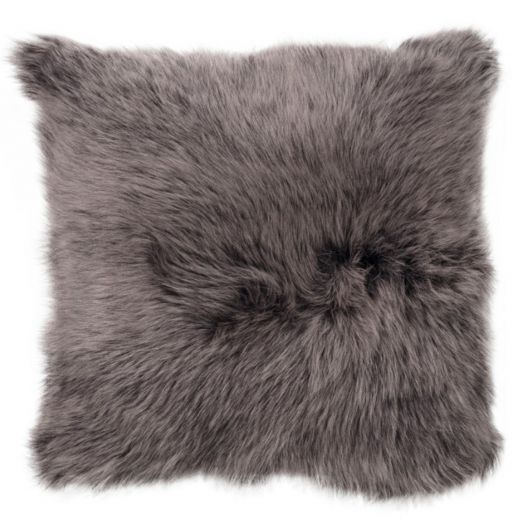NEW-Shearling Pillow- EHB- 45X45cm (SPEHBBR4545) - ANVOGG FEEL SHEARLING | ANVOGG