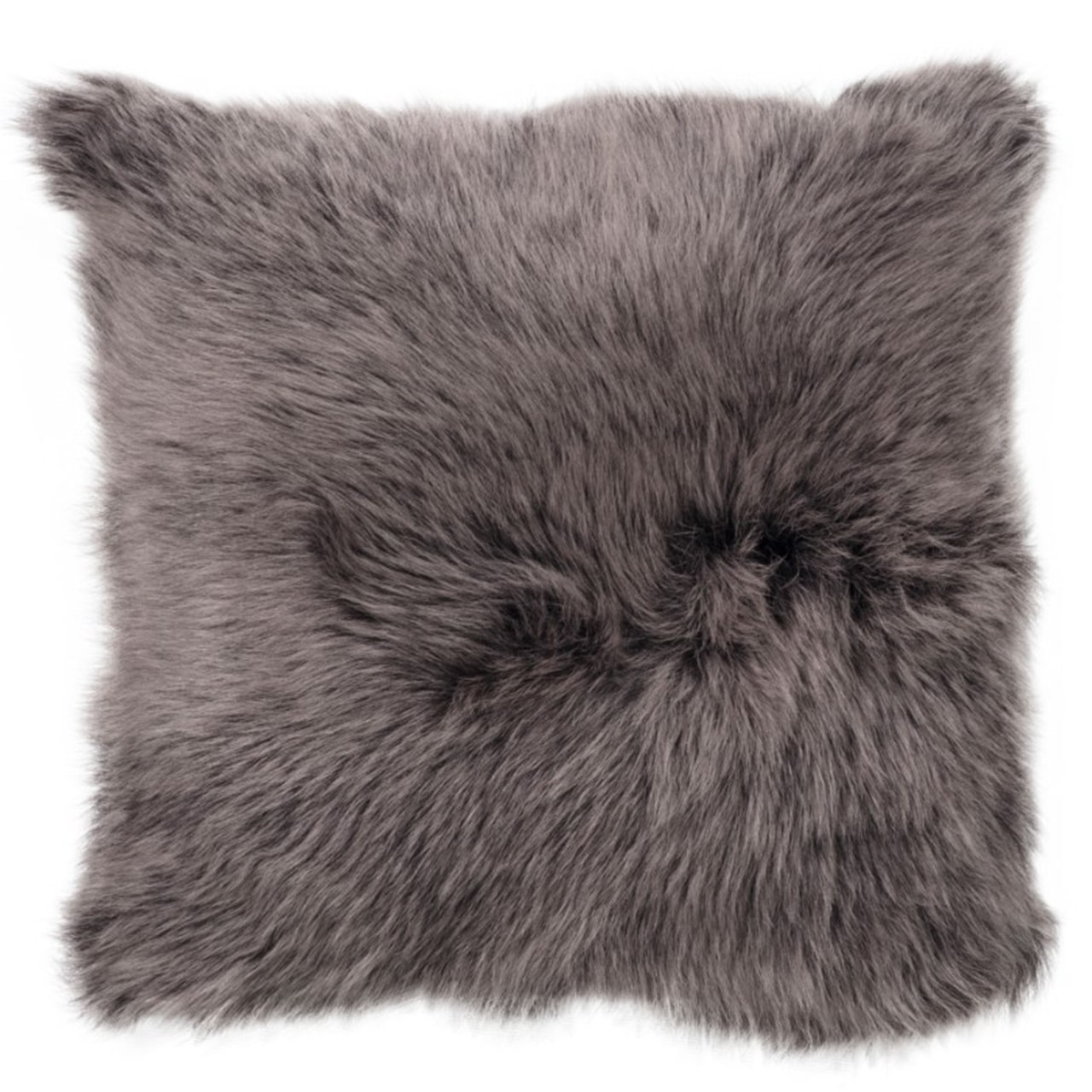 NEW-Shearling Pillow- EHB- 45X45cm (SPEHBBR4545) - ANVOGG FEEL SHEARLING | ANVOGG