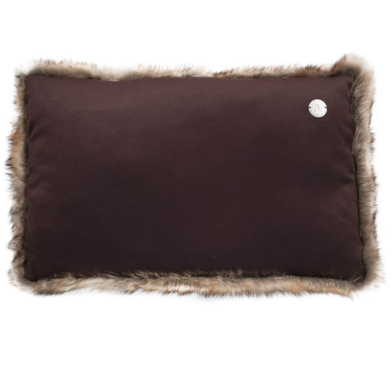 NEW-Shearling Pillow- Extra- 35x55cm (SPEXTBR3555) arka - ANVOGG FEEL SHEARLING | ANVOGG