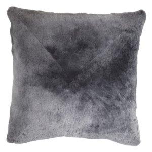 NEW-Shearling Pillow- Grey- 60x60cm (SPGREGR6060) - ANVOGG FEEL SHEARLING | ANVOGG
