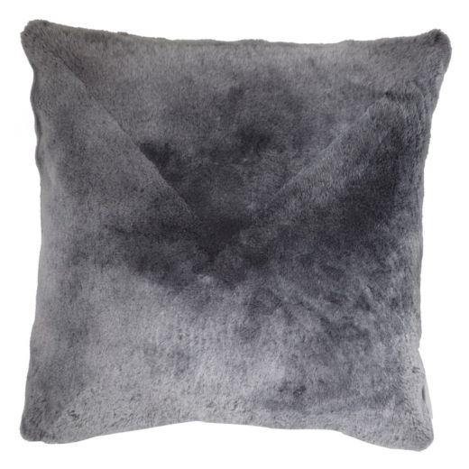 NEW-Shearling Yastık- Grey- 60x60cm (SPGREGR6060) - ANVOGG FEEL SHEARLING | ANVOGG