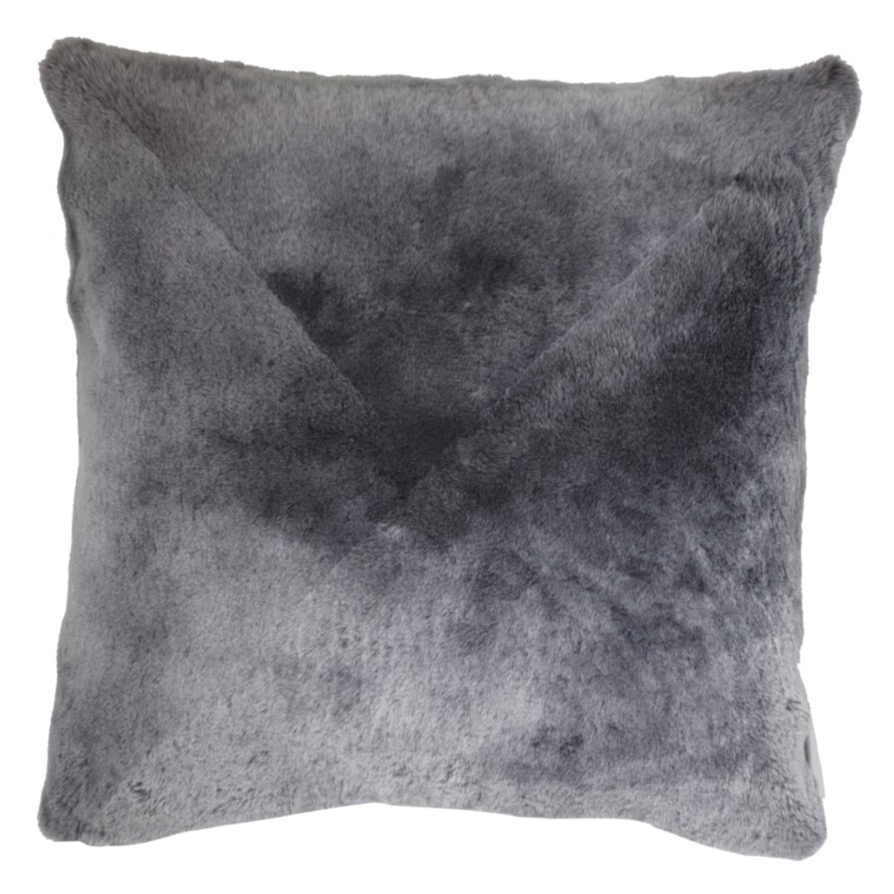 NEW-Shearling Pillow- Grey- 60x60cm (SPGREGR6060) - ANVOGG FEEL SHEARLING | ANVOGG