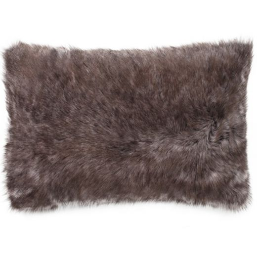 NEW-Shearling Pillow- Sable- 35x55cm (SPSABTO3555) - ANVOGG FEEL SHEARLING | ANVOGG