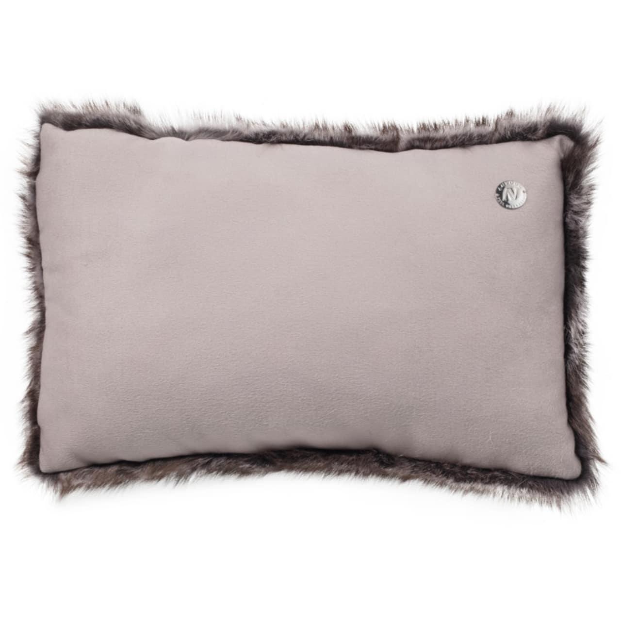 NEW-Shearling Pillow- Sable- 35x55cm (SPSABTO3555) arka - ANVOGG FEEL SHEARLING | ANVOGG