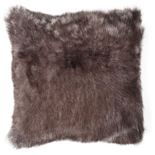 NEW-Shearling Pillow- Sable- 45x45cm (SPSABTO4545) - ANVOGG FEEL SHEARLING | ANVOGG