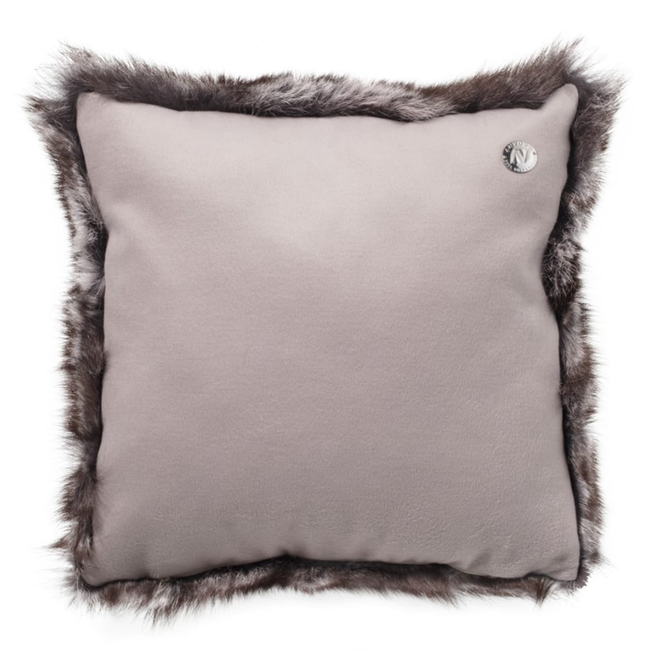 NEW-Shearling Pillow- Sable- 45x45cm (SPSABTO4545) arka - ANVOGG FEEL SHEARLING | ANVOGG