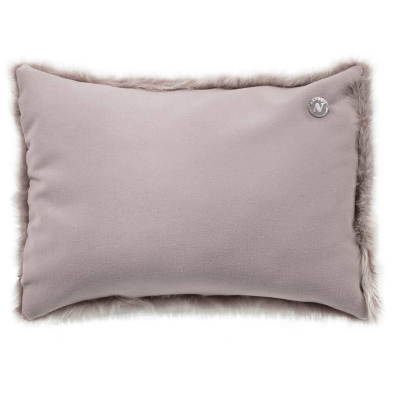 NEW-Shearling Pillow- Topo- 35x55cm (SPTOPTO3555) arka - ANVOGG FEEL SHEARLING | ANVOGG