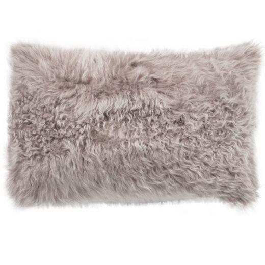 NEW-Shearling Pillow- Topo Curly- 35x55cm (TPTOPTO3555) - ANVOGG FEEL SHEARLING | ANVOGG