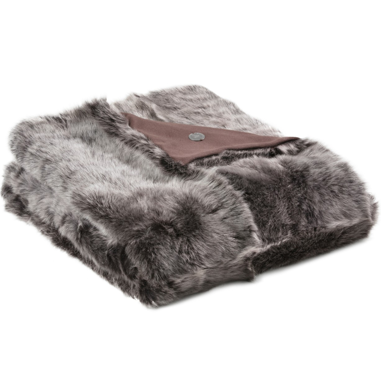 NEW-Shearling Throw-EHB-134x150cm (STEHBBR134150) - ANVOGG FEEL SHEARLING | ANVOGG