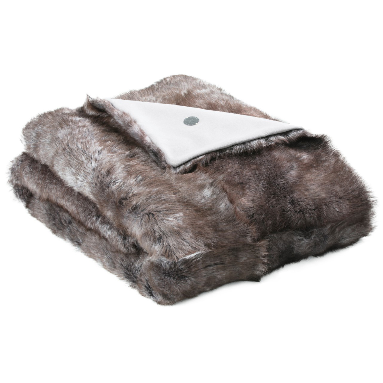 NEW-Shearling Throw- Sable-134x150cm(STSABTO134150) - ANVOGG FEEL SHEARLING | ANVOGG