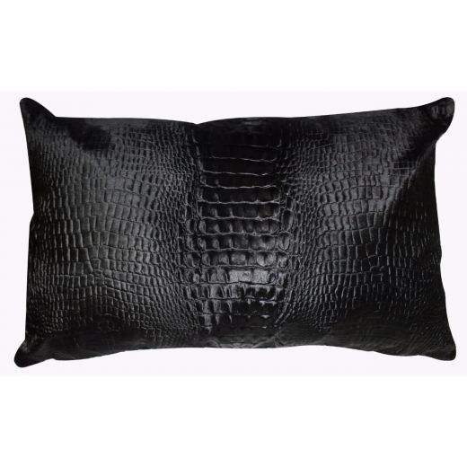 Cavallino Pillow- 35x55cm-(RENK_Croco)- (İSİM_Croco the Recta)(CPCRO20017BL3555) - ANVOGG FEEL SHEARLING | ANVOGG