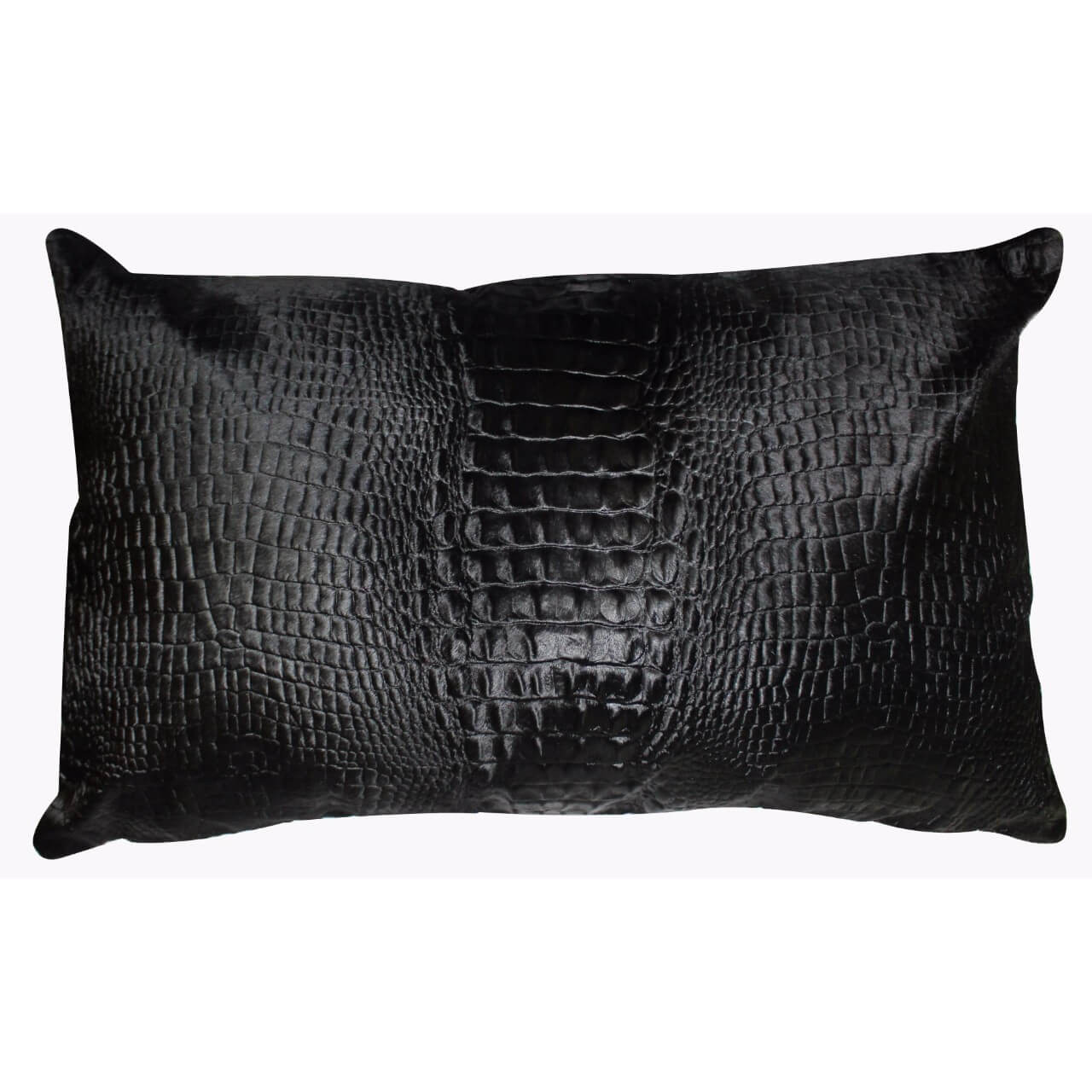Cavallino Pillow- 35x55cm-(RENK_Croco)- (İSİM_Croco the Recta)(CPCRO20017BL3555) - ANVOGG FEEL SHEARLING | ANVOGG