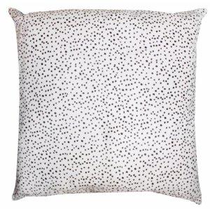 Cavallino Pillow- 50x50cm-(RENK_Black Spots)-(İSİM_Black Spots The Squa(CP1033BL5050) - ANVOGG FEEL SHEARLING | ANVOGG