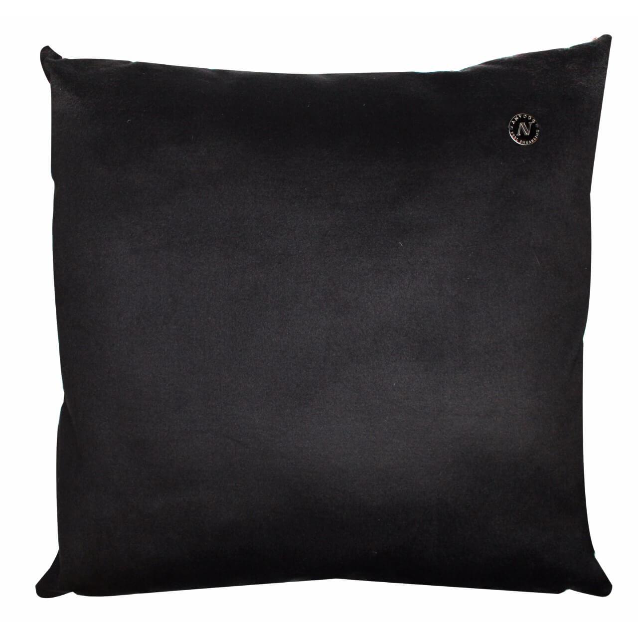 Cavallino Pillow- 50x50cm-(RENK_Black Spots)-(İSİM_Black Spots The Squa(CP1033BL5050) arka - ANVOGG FEEL SHEARLING | ANVOGG