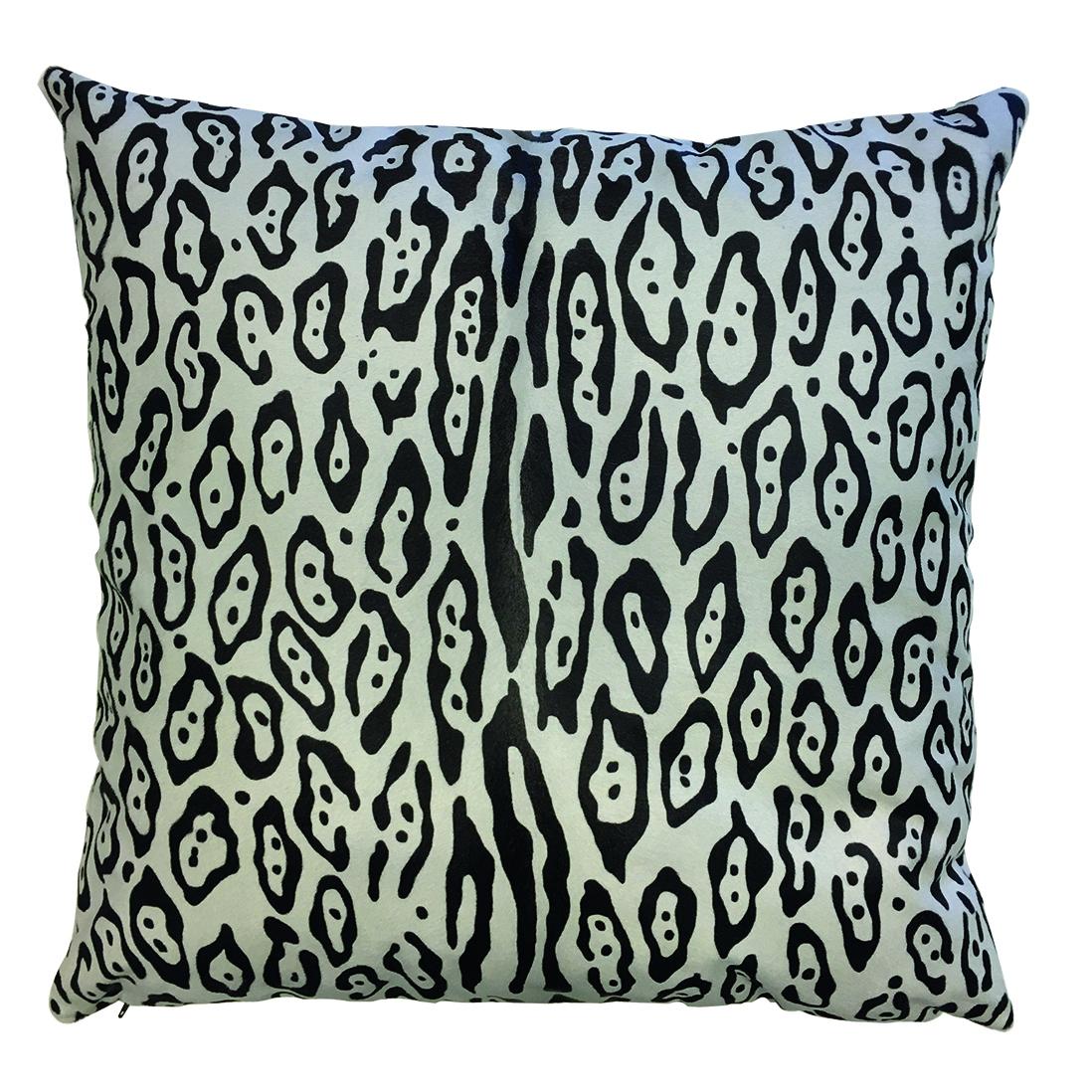 Cavallino Pillow-White_Leopard-50X50CM-CPLEO1018B5050 - ANVOGG FEEL SHEARLING | ANVOGG