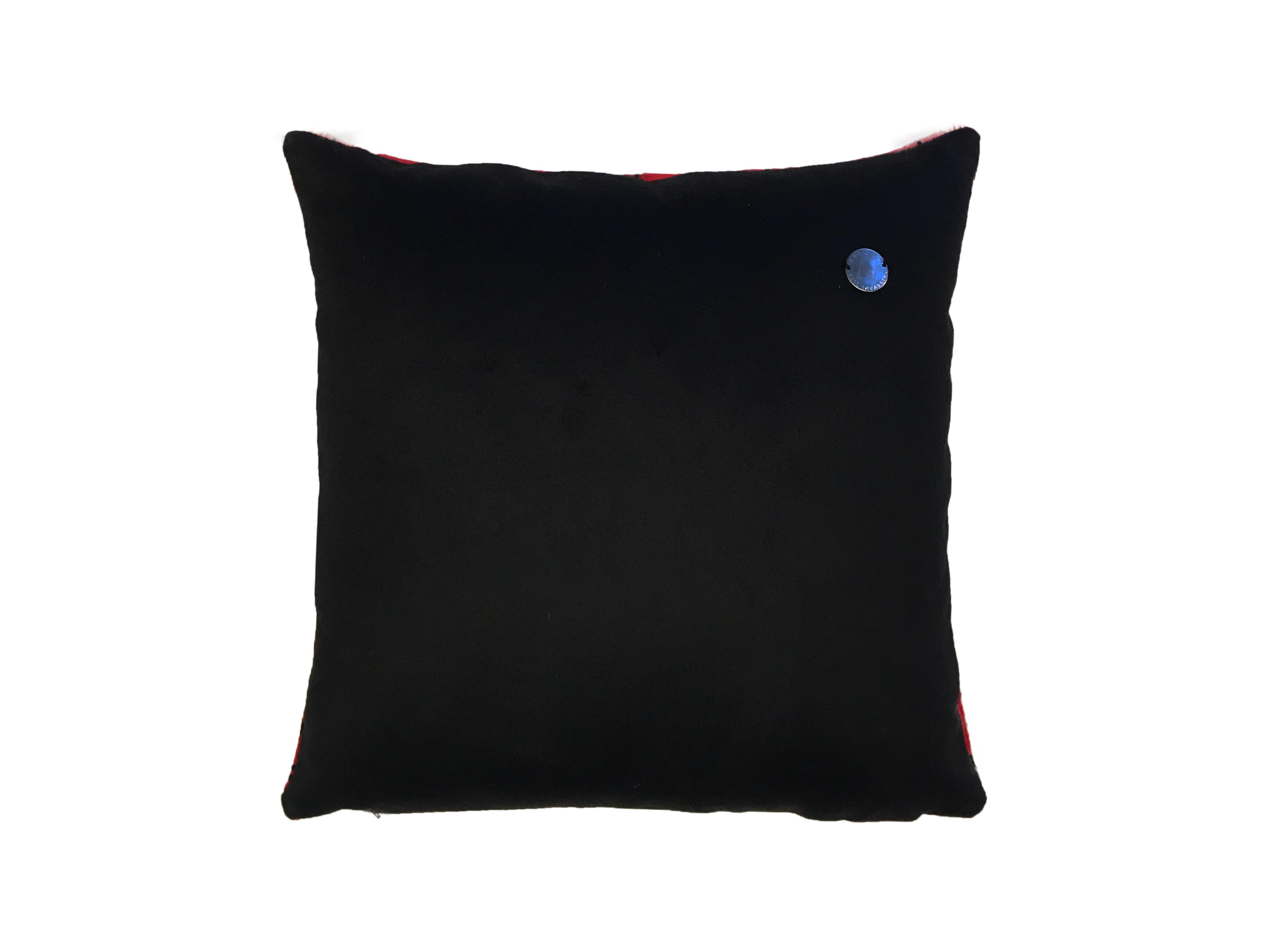 Cavallino Pillow-shabishu-50x50cm-CPSHA1267833BL5050-arka - ANVOGG FEEL SHEARLING | ANVOGG