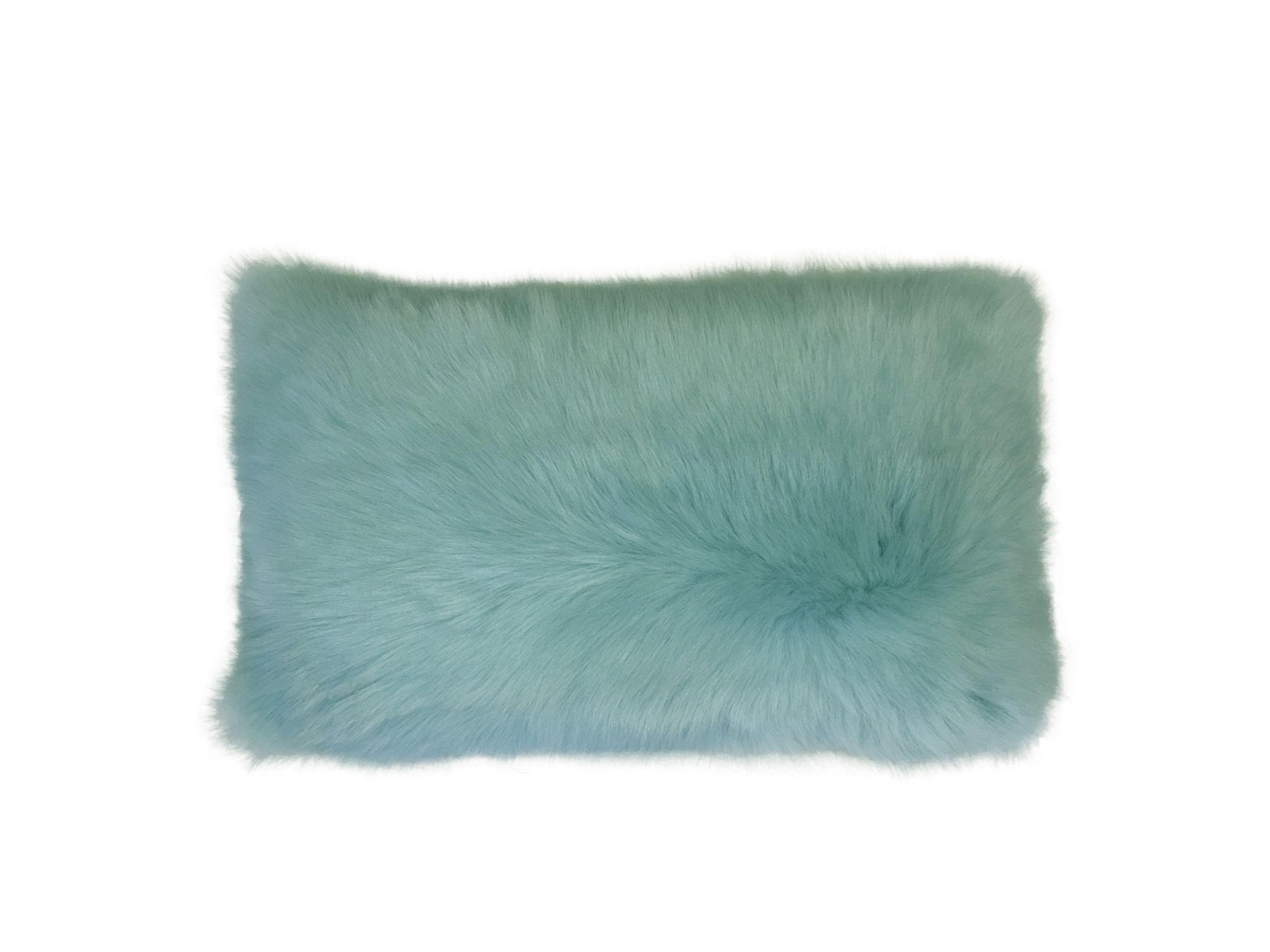 Shearling Pillow-Aqua-30x50cm_SPAQUS3143050 - ANVOGG FEEL SHEARLING | ANVOGG