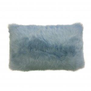 Shearling Pillow-Ciello-30x40cm-SPCIES3143050 - ANVOGG FEEL SHEARLING | ANVOGG