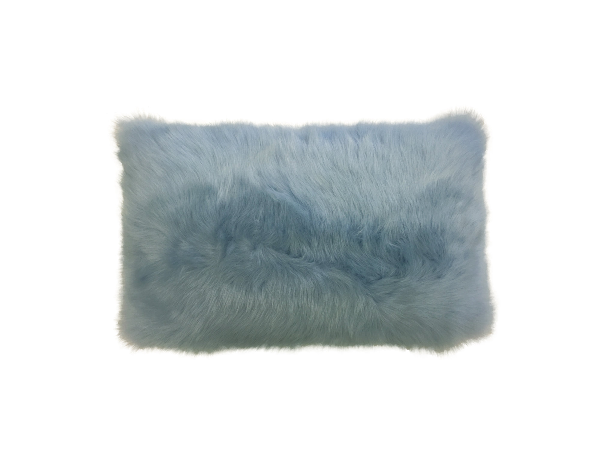 Shearling Pillow-Ciello-30x40cm-SPCIES3143050 - ANVOGG FEEL SHEARLING | ANVOGG