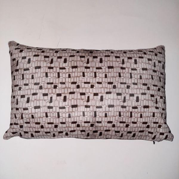 Cavallino Pillow BV1256 L.grey 35x55 cm -(CPBVBTO3555) (1) - ANVOGG FEEL SHEARLING | ANVOGG