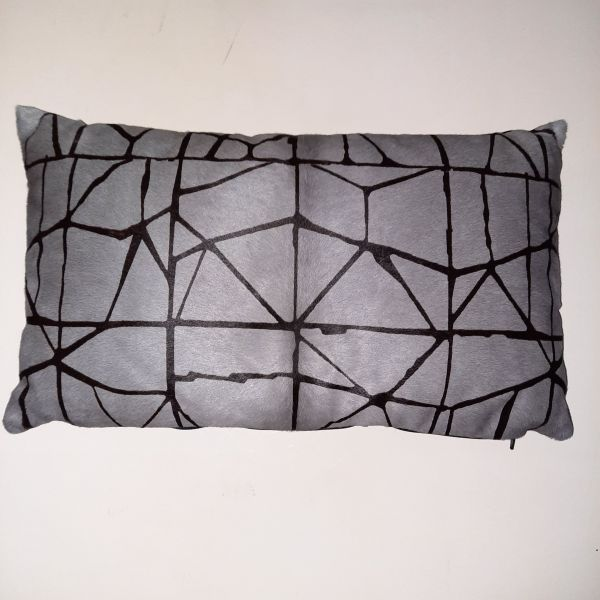 Cavallino Pillow Shob.1267-764 Grey 30x50 cm -(CPSHO1267764BL3050) - ANVOGG FEEL SHEARLING | ANVOGG