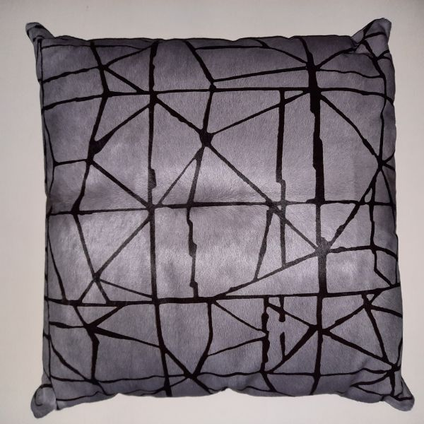 Cavallino Pillow -Shob.1267-764 Grey 50x50cm-(CPSHO1267764BL5050) - ANVOGG FEEL SHEARLING | ANVOGG