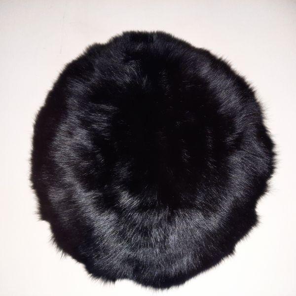 Shaearling Pillow - Black 45 Round SPBLABL45ROU - ANVOGG FEEL SHEARLING | ANVOGG