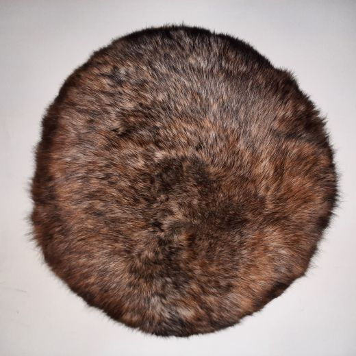Shearling Pillow -Extra 45 Round (SPEXTBR45ROU) - ANVOGG FEEL SHEARLING | ANVOGG